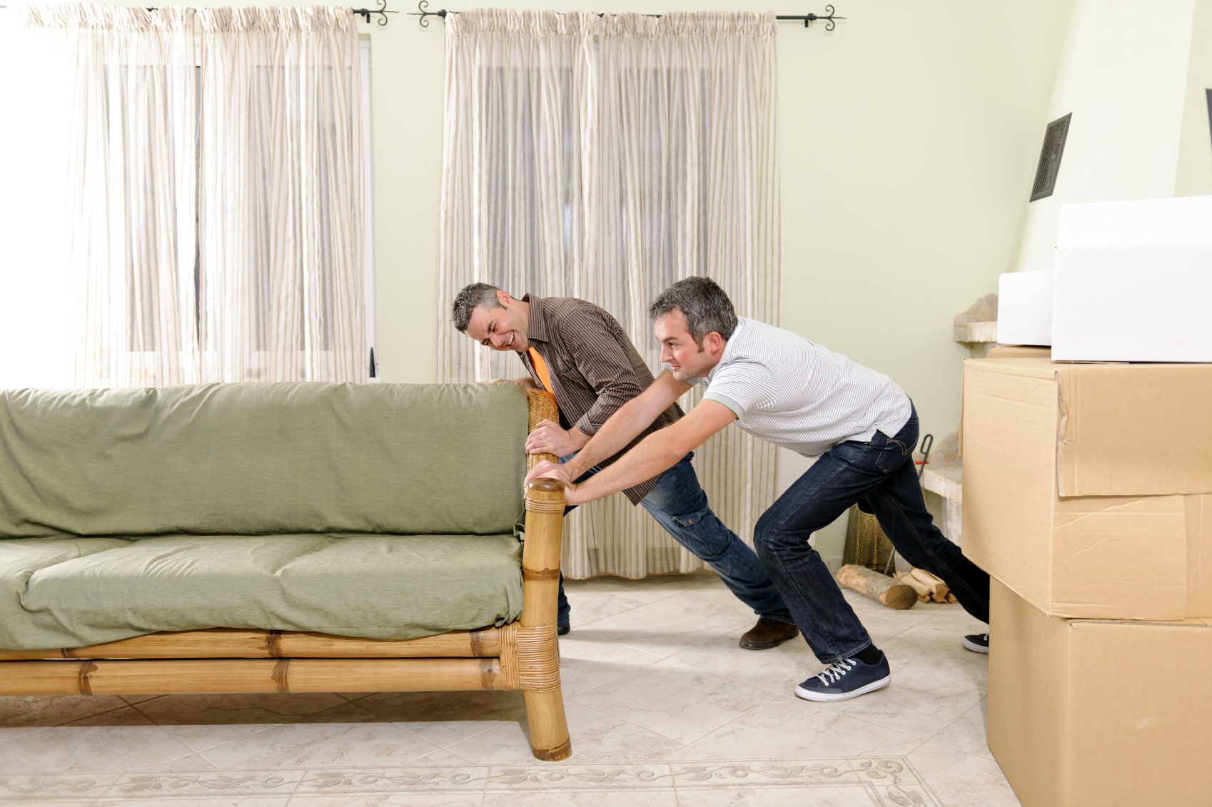 A guide to moving awkward furniture - Easy to move couch ...